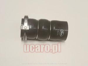 Przewód rura powietrza turbo intercooler górny Peugeot / Citroen 1.6 HDI G 09-0122, 0382.PJ, 9685598580, 9686523980, 9685598280.