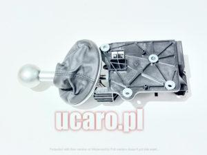 Kompletny lewarek dźwignia zmiany biegów Fiat 500 od 2007 roku oryginał 50295885, 55344091S.